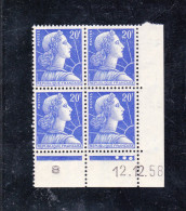 FRANCE Coin Daté Y.T. N° 1011B    NEUF** - 1950-1959