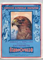 ALBUM FRANCORUSSE COMPLET N°2 LES OISEAUX ET LES PAPILLONS - Sammelbilderalben & Katalogue