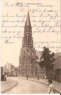 DUFFEL (2570) : Eglise Saint-Martin. Belle Petite Animation. CPA Précurseurs. - Duffel