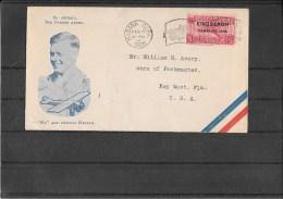CUBA 1928-Volo Lindbergh Habana-Florida (ref 233) - Cuba