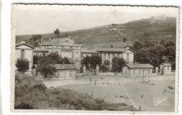 CPSM BANYULS SUR MER (Pyrénées Orientales) - Institut Hélio Marin Façade Et Plage - Banyuls Sur Mer