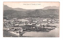 Cape Verde S.Vicente Cabo Verde PIER VISTA GERAL GENERAL VIEW PLAIN BACK POSTCARD - Cape Verde