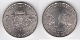 **** 2 EURO DE VOIRON - 8 Au 22 AVRIL 1998 - PRECURSEUR EURO **** EN ACHAT IMMEDIAT !!! - Euros Des Villes