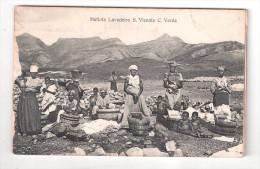 Cape Verde S.Vicente Cabo Verde MATIOTA LAVADEIRO PLAIN BACK POSTCARD - Cape Verde