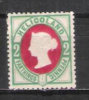 Héligoland 11 Neuf Sans Gomme (réimpression ??) - Héligoland