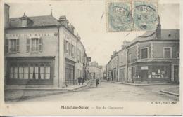 18  -  MENETOU SALON  -  Rue Du Commerce  - - Altri Comuni
