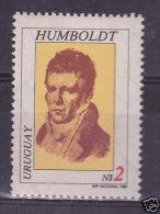 URUGUAY Sc#1097 MNH STAMP Alexander Humboldt Scientist & Explorer - Uruguay