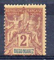 DIEGO-SUAREZ N°39 Neuf Sans Charniere - Diégo-Suarez (1890-1898)