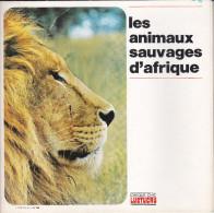LIVRET COMPLET CHEQUE CHIC LUSTUCRU   - 12 IMAGES ANIMAUX SAUVAGES D'AFRIQUE - Old Paper