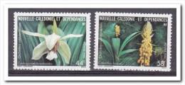 New Caledonie 1986, Postfris MNH, Flowers, Orchids - Nuevos