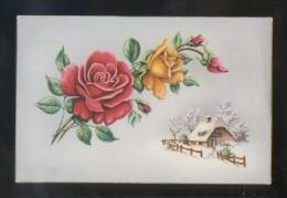 Ilustrador No Descifrado. Ed. C. Y Z. Serie Nº 549-B. Escrita. - Flores, Plantas & Arboles