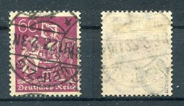 D. Reich Michel-Nr. 184 Vollstempel - Geprüft - Oblitérés