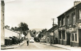POST CARD SCOTLAND DUNMORE STREET LOOKING EAST BALFRON