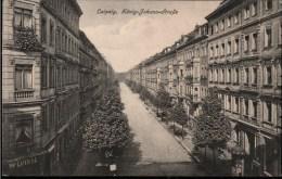 ! Alte Ansichtskarte Leipzig, König Johann Straße - Leipzig