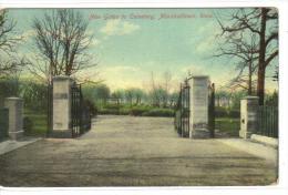 New Gates to Cemetery , MARSHALLTOWN , Iowa , 00-10s