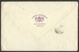 Hungary, Letter Of The President Of The Hungarian Parliament, Cancelled: Budapest 57 Parliament,(rare),1933.. - Hongrie