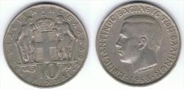 GRECIA 10 DRACMAS  1968 - Grecia