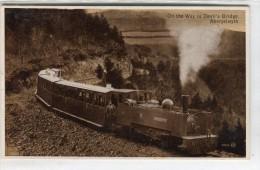 POST CARD WALES ON THE WAY TO DEVIL´S BRIDGE ABERYSTWYTH - Caernarvonshire