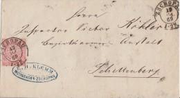 NDP Brief EF Minr.16 Zschopau 19.7.69 - Norddeutscher Postbezirk
