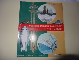 Album Thematique 53  Timbres Obliteres Siberia And The Far East - Timbres
