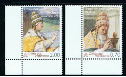 2013 - VATICANO - S21H - SET OF 2 STAMPS ** - Unused Stamps
