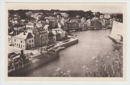 BELLE-ILE-en-MER - Le Palais - Vue Panoramique Sur L'arrière-Port - édit. C.A.P. N°240 - Belle Ile En Mer