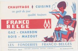 GAZ-CHARBON- Les Fonderies FRANCO-BELGES - Electricité & Gaz
