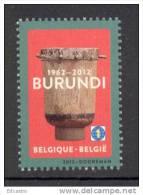 4.- BELGIE BELQUIQUE BELGIUM 2012.- 50 YEARS OF INDEPENDENDE OF BURUNDI - Belgium