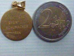 Médaille F1 Michaël Schumacher Champion Du Monde Sur Ferrari - Autosport - F1