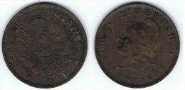 ARGENTINA 2 CENTAVOS 1893 MBC - Argentina
