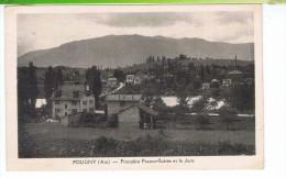 CPA-01-1945-POUGNY-FRONTIERE FRANCO-SUISSE ET LE JURA- - France