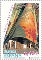 España 2007 Edifil 4325 Sello ** Arquitectura Mercado Santa Caterina Barcelona 0,42€ Spain Stamps Timbre Espagne - 2001-10 Usados