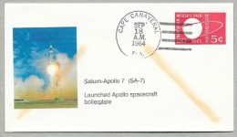 SATURN-APOLLO7 (SA7) - APOLLO SPACECRAFT BOILERPLATE - Briefe U. Dokumente