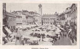 CPA à Dos Non Séparé - VERONA - Piazza Erbe - Verona