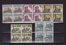 ESPAÑA  -1880/84 Castillos De España Año 68  En Bloque De Cuatro - 1931-Hoy: 2ª República - ... Juan Carlos I