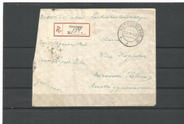 MCOVERS -44 R- LETTER FROM KUTUZOVO TO CZECHOSLOVAKIA. 18.08.1927