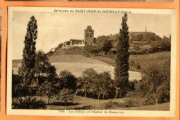 MN4-25 Environs De Saint-Jean De Bournay Colline Et Eglise De Beauvoir. Circulé - Saint-Jean-de-Bournay