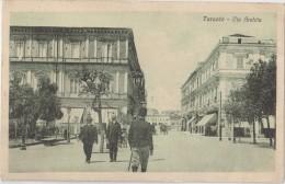 CPA Animée - TARANTO - Via Archita - Taranto