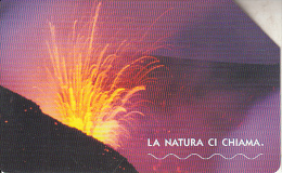 ITALY - Volcano, Mount Etna, Exp.date 31/12/04, Used - Volcans