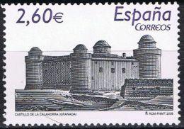España 2008 Edifil 4440 Sello ** Castillos Españoles Castillo De Calahorra Granada 2,60€ Spain Stamps Timbre Espagn - 1931-Today: 2nd Rep - ... Juan Carlos I