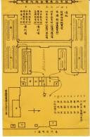 Nagoya Japan, Museum Map In Japanese, C1900s Vintage Postcard - Nagoya