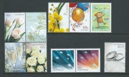 Australia 2010 Special Occasions & Greetings Set 10 MNH - 2000-09 Elizabeth II