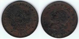 ARGENTINA 2 CENTAVOS 1893 A - Argentina