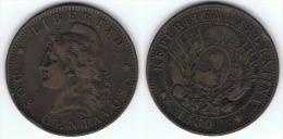 ARGENTINA 2 CENTAVOS 1889 - Argentina