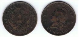 ARGENTINA 2 CENTAVOS 1890 - Argentina