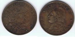 ARGENTINA 2 CENTAVOS 1892 - Argentina
