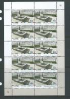 Australia 2010 National Service Monument Sheetlet Of 10 MNH - Mint Stamps