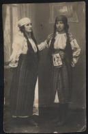 Neamt-Piatra Neamt-Tiganci Ghicitoare In Costum Traditional-Gypsy Woman-Ethnic Costumes-2 Scans-front/back - Romania