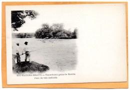 Rio Madero Exportacion Gome De Bolivia 1900 Postcard - Bolivie