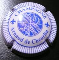 Arnaud De Cheurlin - Blanc Et Bleu Striee - Capsule Champagne - Champagne